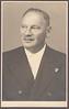 Ludvík Reich (24. 6. 1886 - ?), vrch. pol. ofic. vv, 1946, foto Váňa, Slavonice