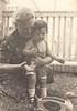 Petr Glässner a Kateřina Reichová, vila Slavonice, 1946