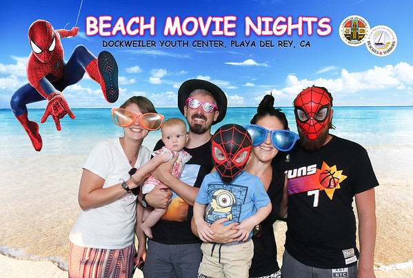 08.30.19 Beach Movie Nights : Spiderman into the Verse
