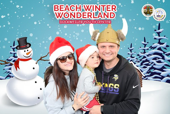 2019 Beach Winter Wonderland Photo Booth