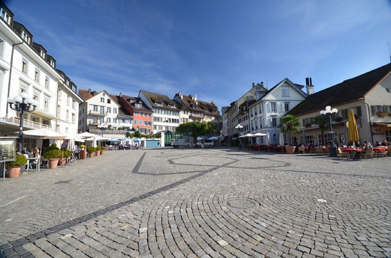 The Main Square In Zug