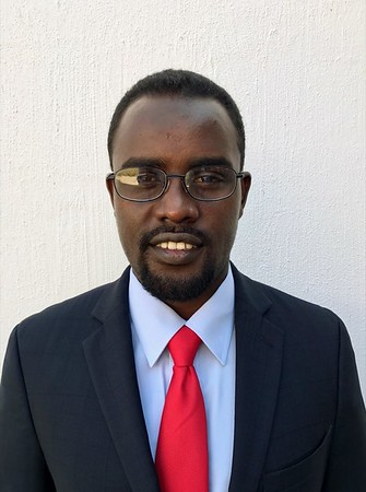 Doctoral Candidate Omar Abdi.