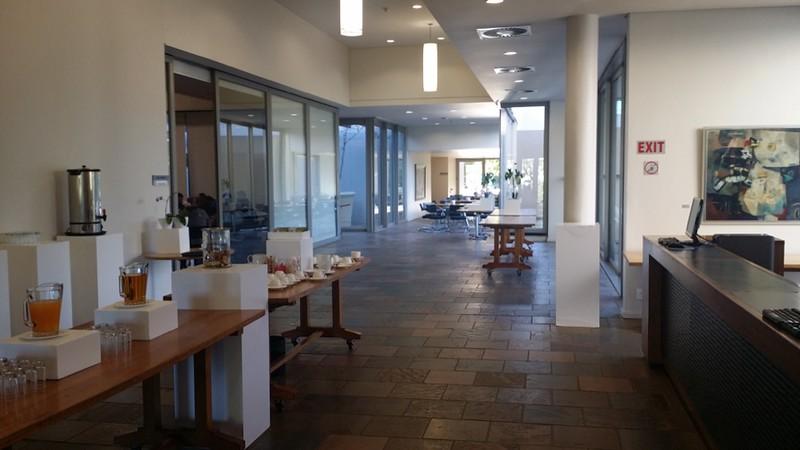 Inside the STIAS Building.