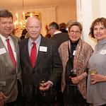 Jim Shake, David Armstrong, Ann Shake and Carol Armstrong.