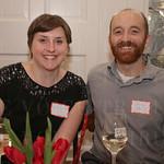 Julia Leist and Andy Pike.