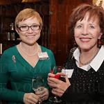 Board Member Andrea Hunt and Anne Eldridge.