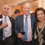 John Nevitt with Kevin and Sunny Lynch.