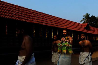 Aaratupuzha Shasthavu or main deity