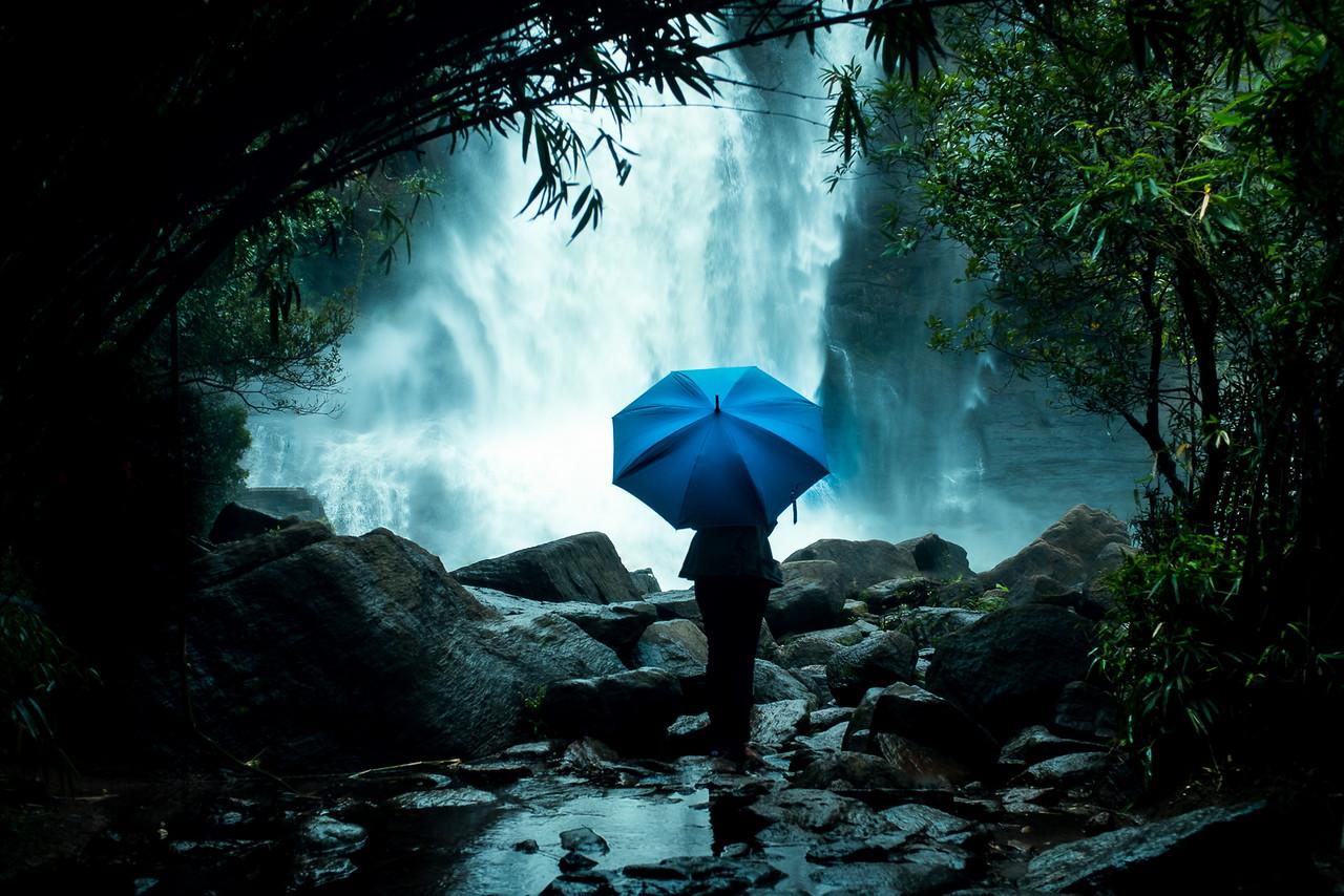 Athirampalli waterfalls, Kerala, India