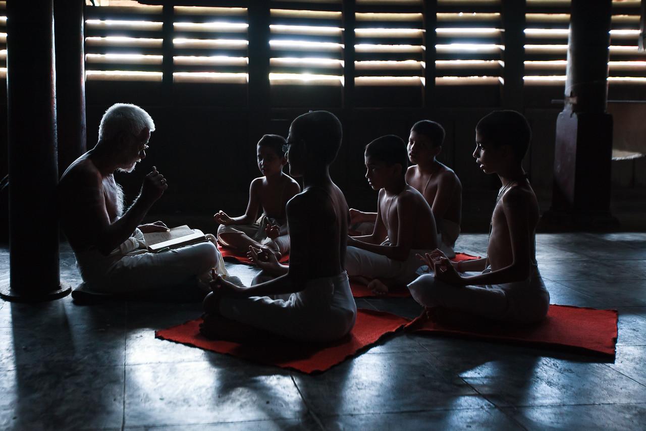 Vedic School of Kerala, Brahmaswom Madom, Kerala, India