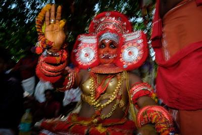 Vasoorimala Theyyam