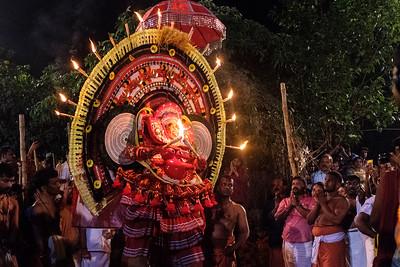 Chudala Badrakali Theyyam