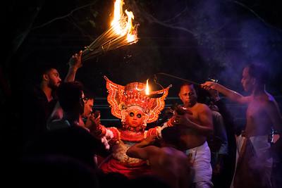 Vellatom of Puliyoor Kannan Theyyam