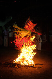 Vellattom of Pulimaran Theyyam