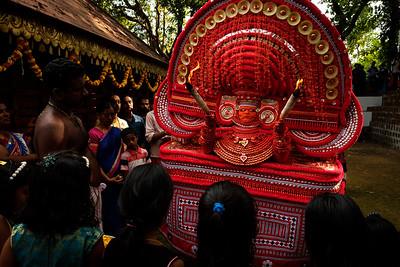 Munchilotu Bagavathy Theyyam