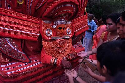 Chuzali Badrakali Theyyam