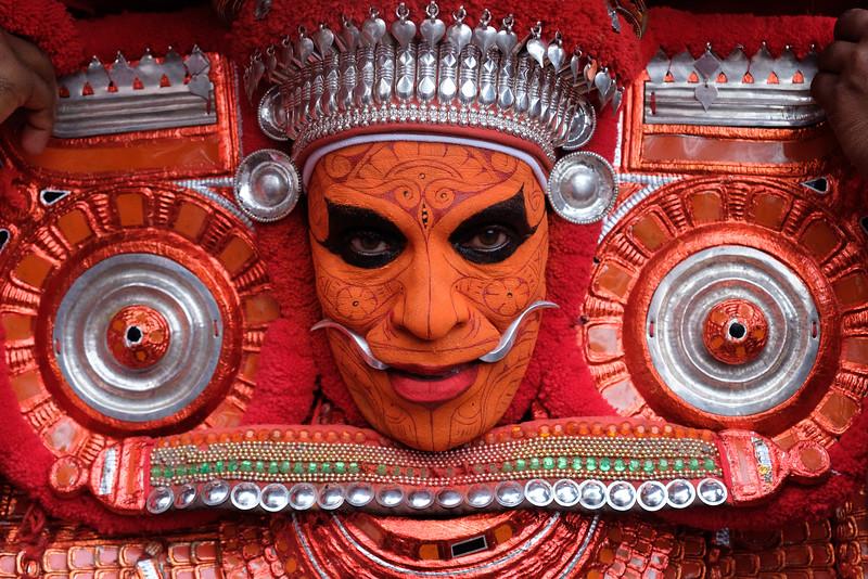 Chuzhali Bagavathy Theyyam