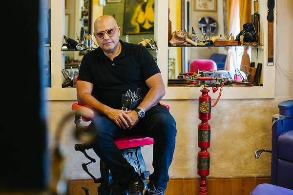 GilbertoVaya akaPapito,50 Hairdresser