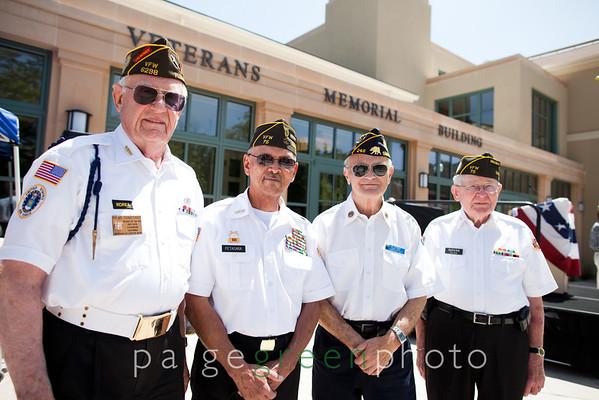 Veteran Hall Opening