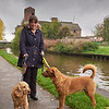 Towpath Portraits 10 - Jenny and her dogs