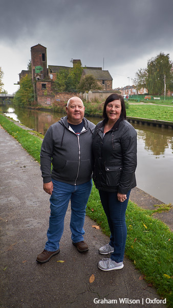 Towpath Portraits 09 - Neil and Dawn