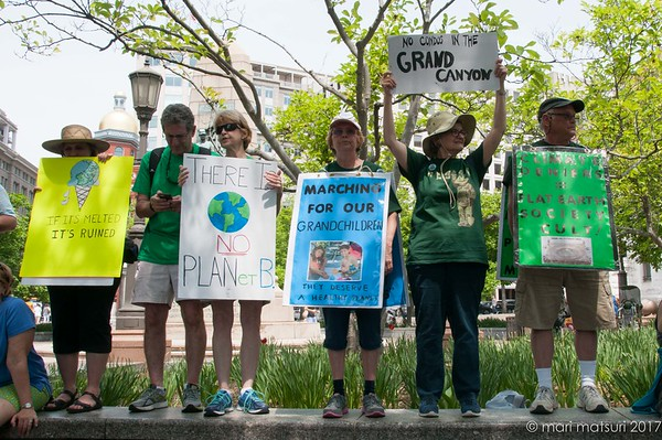 Photojournalism - Climate March in DC on April 29, 2017