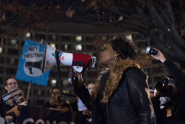 Photojournalism - Protest against Net Neutrality in DC, Dec.2017