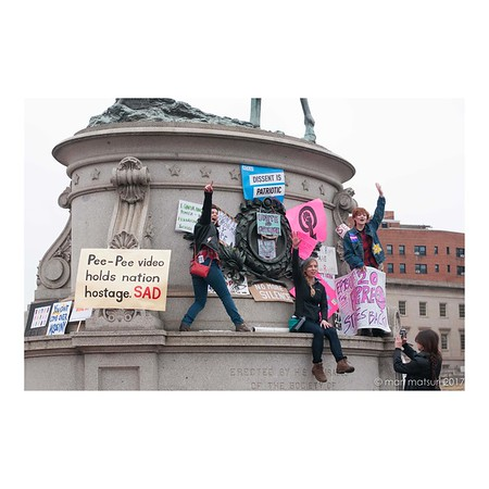 Photojournalism - Women's March in DC on Jan.21, 2017