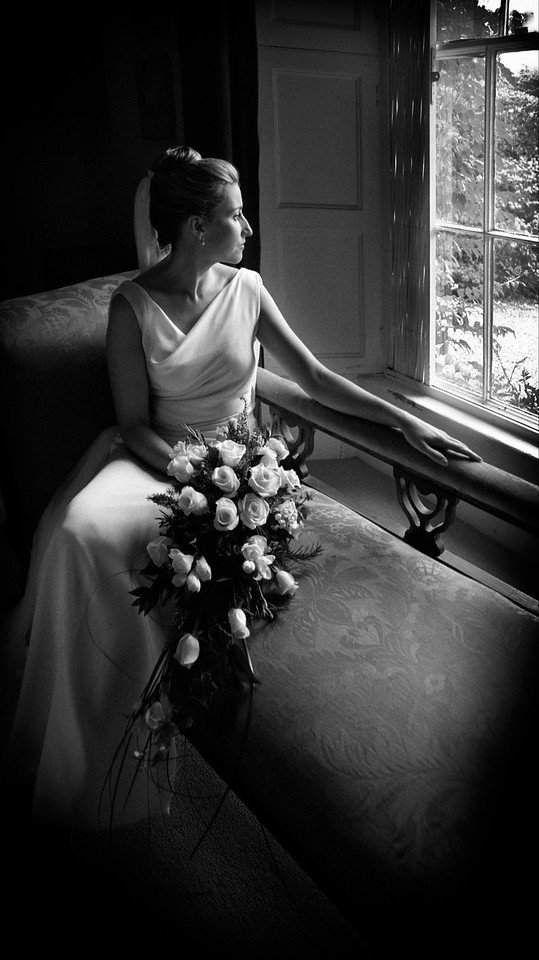 Picture of Vanessa Butler's wedding which won gold in the IPPA judging2002/3