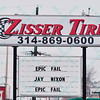 The owner of Zisser Tire, a long standing business in Ferguson Missouri, states his opinions of the governor once the riots and looting finished after the grand Jury decided not to indite Officer Wilson for the killing of Michael Brown.