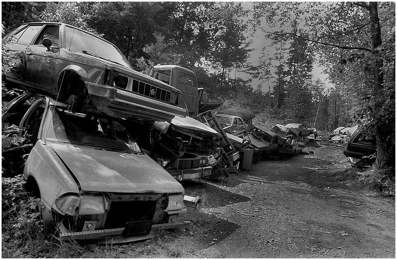 ADK Document Pile of Cars, Riparius