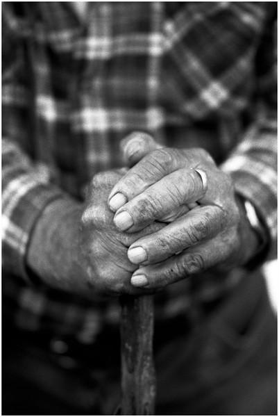 ADK Document Wild Bill's Hands, Westport NY