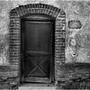 Mexico Banamichi Doorway with Brick Frame April 2008