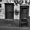 Mexico Nogales Window, Door and Grafitti April 2008