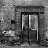 Mexico Banamichi Door with Brick Frame April 2008