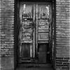 Mexico San Pedro de Fillipe Door with Brick Frame April 2008