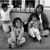 Mexico Tijuana Mother Panhandler 3 Kids April 2006