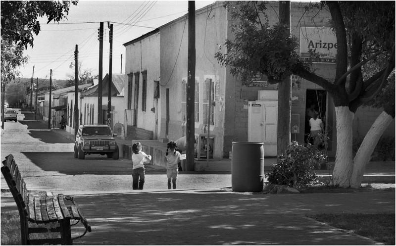 Mexico Arizpe Street Scene 1 April 2008