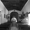 Mexico Aconchi Mission Church Interior April 2008