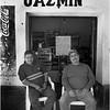 Mexico Aconchi Two Men at Jazmin April 2008