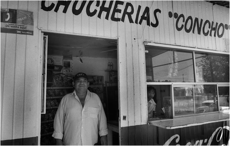 Mexico Cananea Snack Bar April 2008