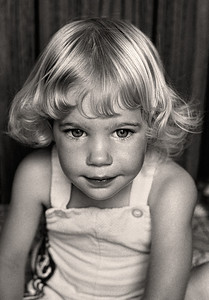 Stacy, Dubuque Blonde Dubuque, IA 1974 8 x 10Black and White                                                                         Exhibit opens November 1, 2013, Central Bank - Lexington KY