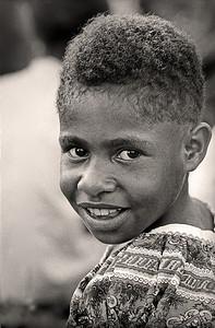 Elementary Smile Papua New Guinea 1969 8 x 10Black and White                                                                         Exhibit opens November 1, 2013, Central Bank - Lexington KY