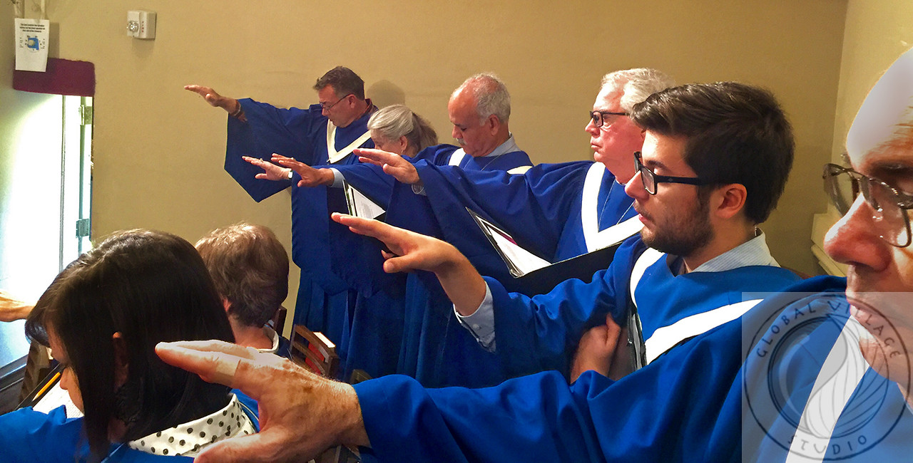 Choir Hands Prayer