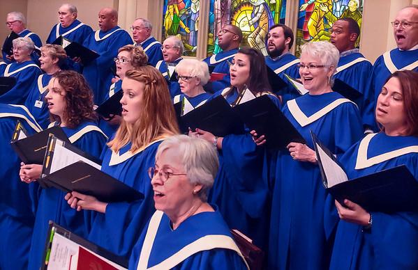 Chancel Choir  Card