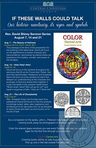 Central Arts sermon series poster