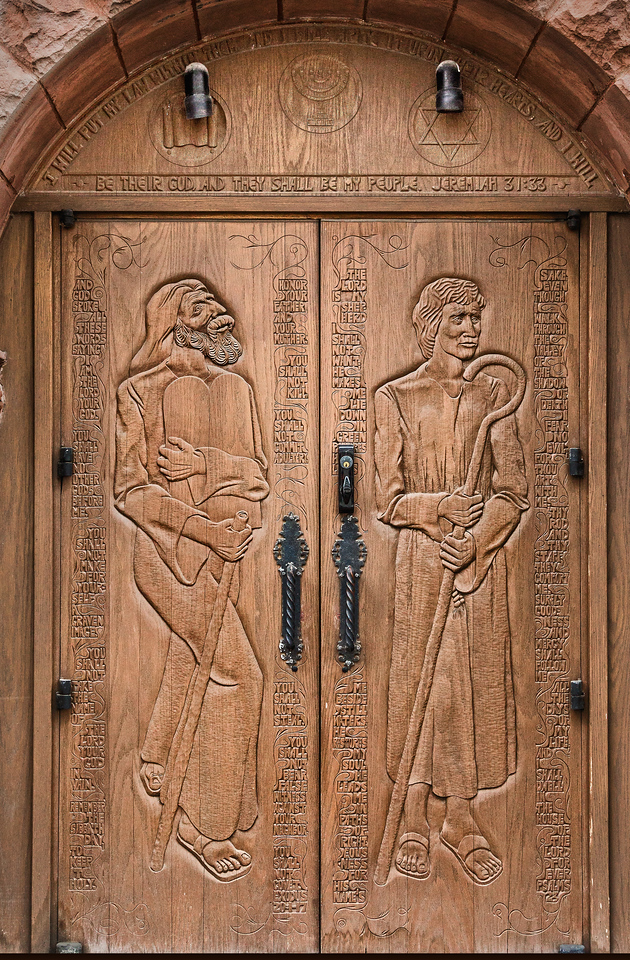 The doors each require all the words to be clear and able to be colored.