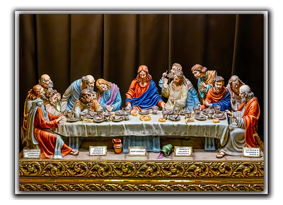 Last Supper Card