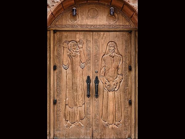20130425-Center Door on Background z