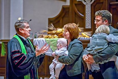 Rev Michael Mooty, Clara Dryden, Martha Dryden, Sydney Dryden, Kris Dryden